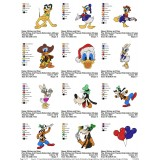 Collection Mickey And Friends Embroidery Designs 03