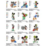 Collection Mickey And Friends Embroidery Designs 04