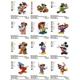 Collection Mickey And Friends Embroidery Designs 06