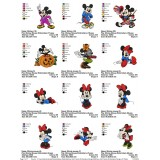 Collection Mickey And Friends Embroidery Designs 07