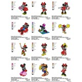 Collection Mickey And Friends Embroidery Designs 08