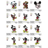 Collection Mickey Mouse Embroidery Designs 02