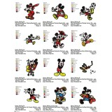 Collection Mickey Mouse Embroidery Designs 05