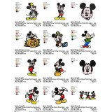 Collection Mickey Mouse Embroidery Designs 06