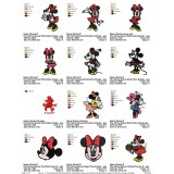 Collection Minnie Mouse Embroidery Designs 02