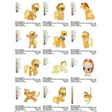 Collection My Little Pony Embroidery Designs 02