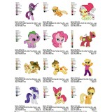 Collection My Little Pony Embroidery Designs 03