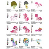 Collection My Little Pony Embroidery Designs 06