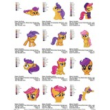 Collection My Little Pony Embroidery Designs 08