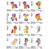 Collection My Little Pony Embroidery Designs 09