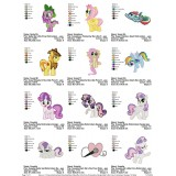Collection My Little Pony Embroidery Designs 10