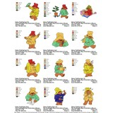 Collection ge Paddington Bear Embroidery Designs 04
