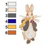 Peter Rabbit Beatrix Potter Embroidery Design