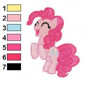 Pinkie Pie Embroidery Design