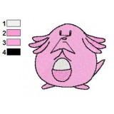 Pokemon Chansey Embroidery Design