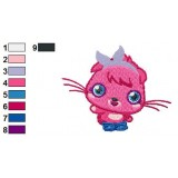 Poppet Moshi Monsters Embroidery Design