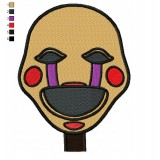 Puppet Five Nights at Freddys Embroidery Design