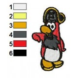 Rockhopper Embroidery Design