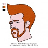 Sheamus WWE Embroidery Design
