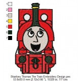Skarloey Thomas The Train Embroidery Design