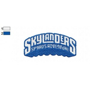 Skylander Adventure Logo Embroidery Design