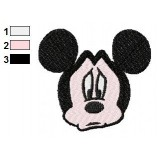 Sorry Mickey Mouse Embroidery Design