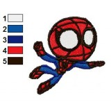 Spiderboy Embroidery Design