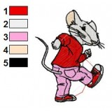 Stuart Little Dace Embroidery Design