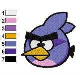 Taladro Bird Angry Birds Embroidery Design