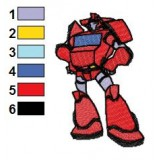 Transformers Embroidery Design 02