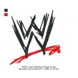 WWE Logo Embroidery Design 02